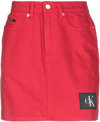 Calvin Klein Jeans Denim skirts