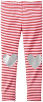 Carter's Print Leggings (Baby) - Heart-12 Months