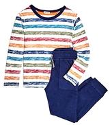 Splendid Spendid Boys' Striped Tee & Joggers Set - Little Kid