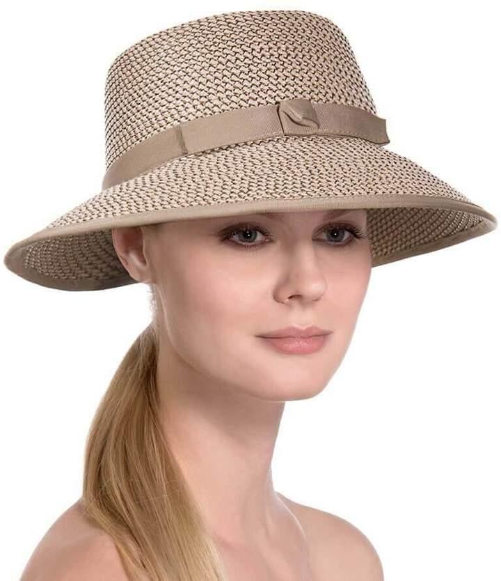 Eric Javits Luxury Fashion Designer Women's Headwear Hat - Squishee Cap