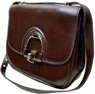 Celine Classic Brown Leather Handbags