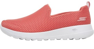 Skechers Womens GOwalk Joy Trainers Coral/White