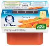 Gerber 2.5 oz. 1st Foods Vegetables Carrots