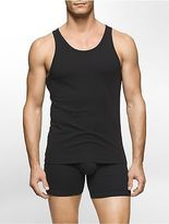 Calvin Klein Mens Modern Cotton Stretch 2 Pack Tank Underwear