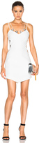 David Koma Metal Neckline Mini Dress