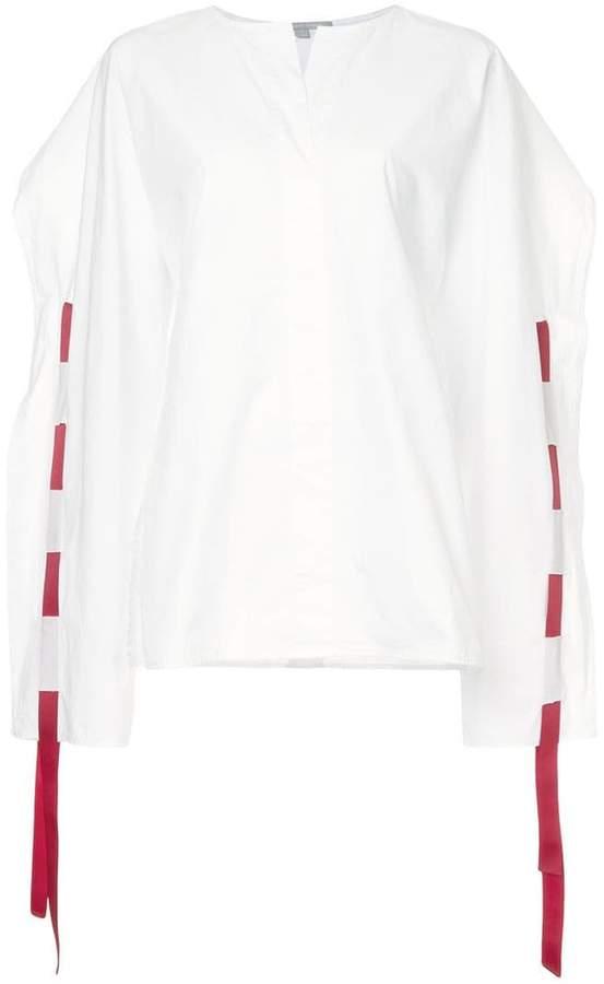 story. White Nicks blouse