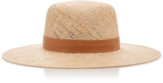 Janessa Leone Kerry Wide-Brim Straw Hat
