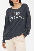 Junk Food Clothing 100% Organic Fleece
