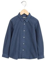 Bonpoint Boys' Long Sleeve Button-Up Shirt