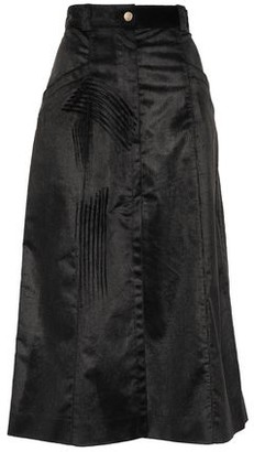 Nina Ricci Cotton-blend Corduroy Midi Skirt