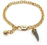 Juicy Couture Pave Horn Wish Bracelet