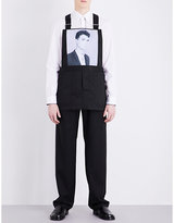 Raf Simons X Robert Mapplethorpe David Byrne Dungarees