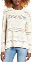 Billabong Wandering Wonderland Open Knit Sweater