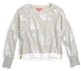 Menu Girl's Foil Print Sweater