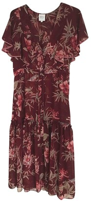 MISA Burgundy Dress for Women