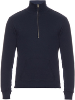 Maison Margiela Funnel-neck zip-front sweater