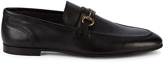 To Boot Horse-Bit Leather Loafers