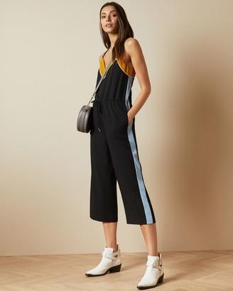 Ted Baker Slip Style Contrast Side Jumpsuit