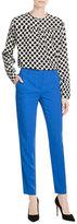 Emilio Pucci Stretch Cady Tailored Trousers