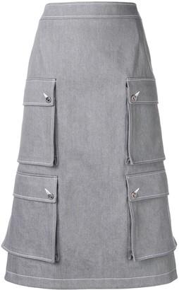 Thom Browne Hunting Cardigan Skirt