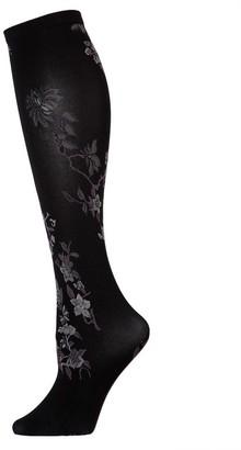 Natori Blossom Knee Hi Socks