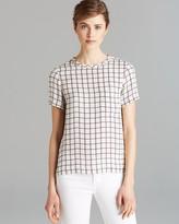 Theory Shirt - Broxlin Scrbble Silk