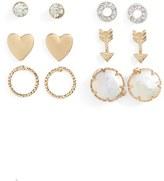 Carole 6-Pack Stud Earrings