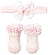 Juicy Couture Newborn/Infant Girls) Headband & Socks Set