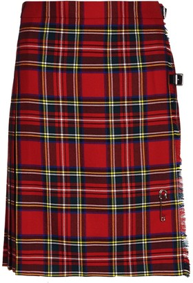 Oxfords Cashmere Ladies Short Kilt in Pure New Wool