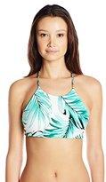 Body Glove Women's Tropical Reversible Elena Halter Bikini Top