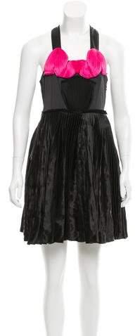 Lanvin Pleated Mini Dress w/ Tags