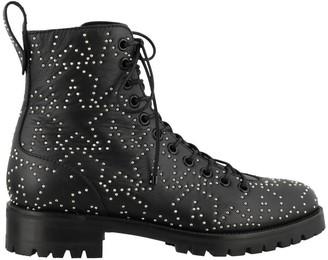 Jimmy Choo Cruz Star Studded Boots