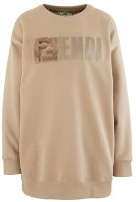 Fendi F Round Neck Sweatshirt