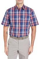 Nordstrom Men's Big & Tall Smartcare(TM) Plaid Sport Shirt