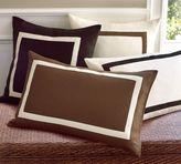 Framed Textured Pillow Cover