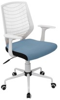 Lumisource Network Office Chair White/Smoked Blue
