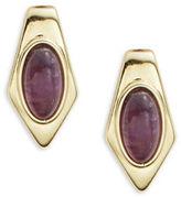 House Of Harlow Amethyst Pierced Earrings