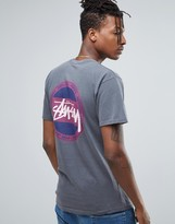 Stussy Overdyed T-shirt With Back Print