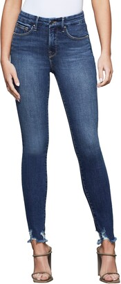 Good American Good Legs Fray Hem Jeans