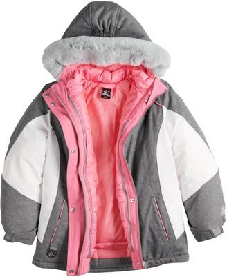 ZeroXposur Girls 4-16 Brigid Systems 3-In-1 Jacket
