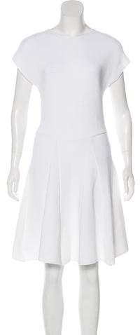 Genny Rib Knit A-Line Dress