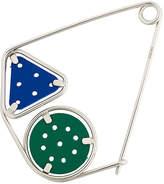 Loewe geometric brooch