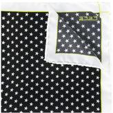 fe-fe star print pocket square