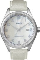 Timex Original Men's Watch T2N409ZB with Mop Dial Off White Strap