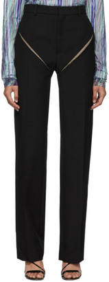Y/Project Black Cut Out Trousers