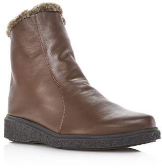 Arche Women's Joelys Leather & Faux-Fur Boots