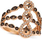 LeVian Le Vian Chocolatier® Diamond Ring (1/2 ct. t.w.) in 14k Rose Gold