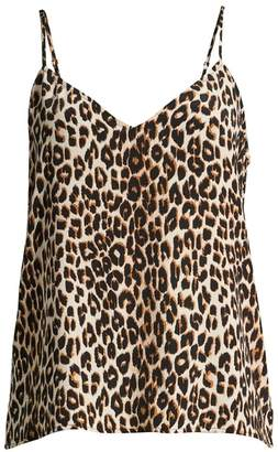 Equipment Layla Leopard Print Camisole Top
