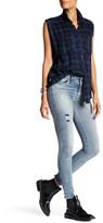 Diesel Skinzee Distressed Skinny Jean