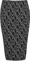 Great Plains Zig Zag Ottoman Tube Skirt